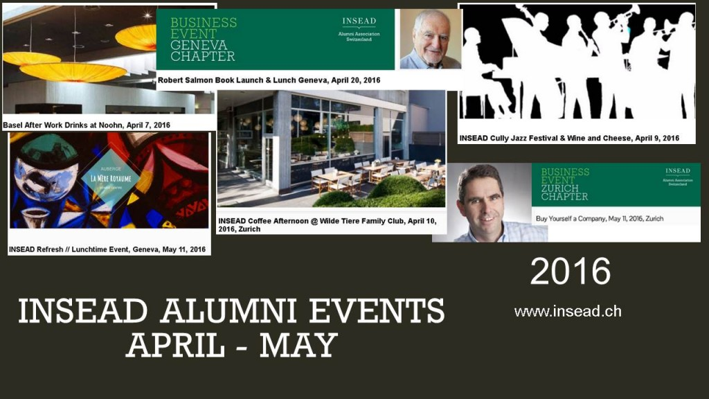 Upcoming Events Apr May